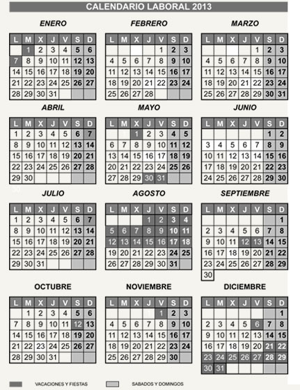 Calendario industrias tagar dise o fabricaci n y for Capea sanitarios catalogo